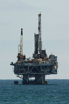 Oil, Drilling, Offshore, Platform