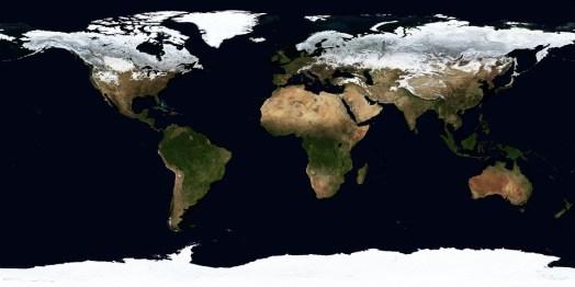 世界, 地図, 地理学, 土地, 衛星画像, 衛星地図, 大陸, 気候帯, 冬, 地球