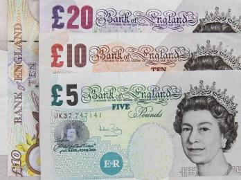 Banco, Bancario, Billetes, Gran Bretaña, Británico