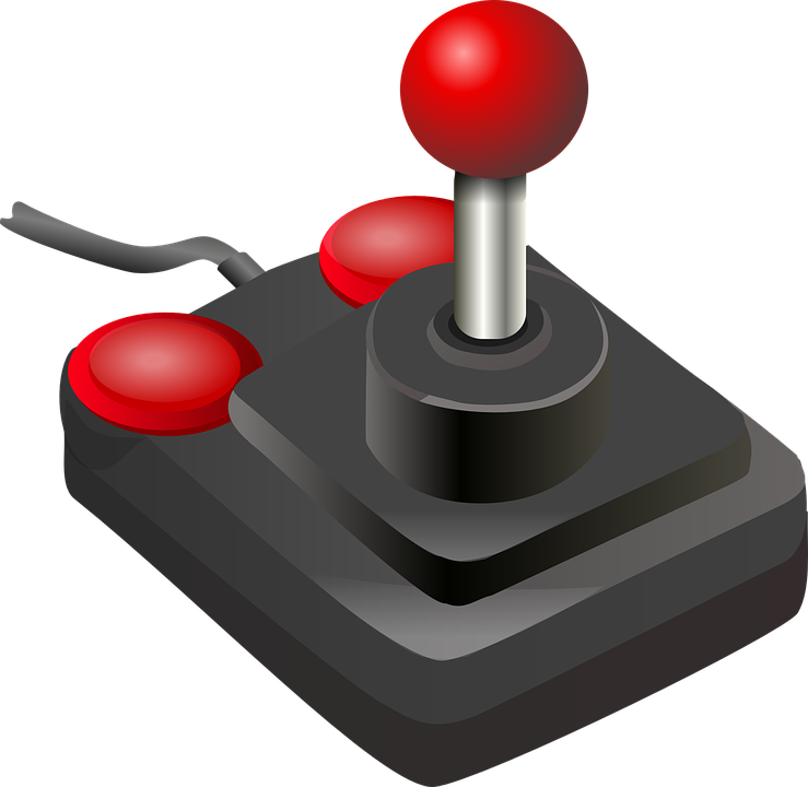 Joystick Game Controller Buttons Free Vector Graphic On