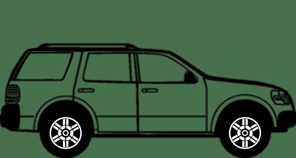 Suv, Vehículo, Suburbano, Unidad, Transporte, De Viaje