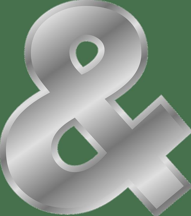 Ampersand Symbols Logogram Free Vector Graphic On Pixabay