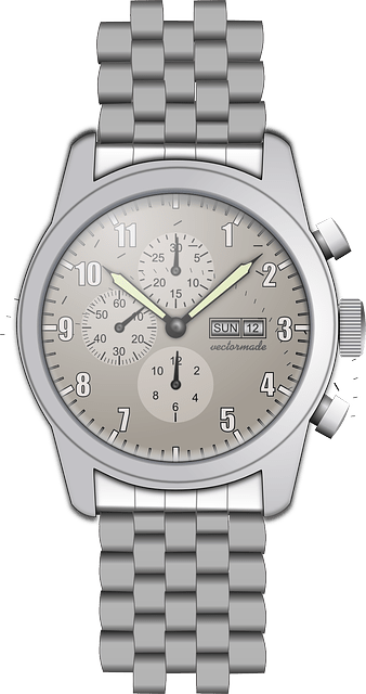 Watch Dial Metal · Free vector graphic on Pixabay