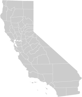 California, Map, Geography, United, States, Usa