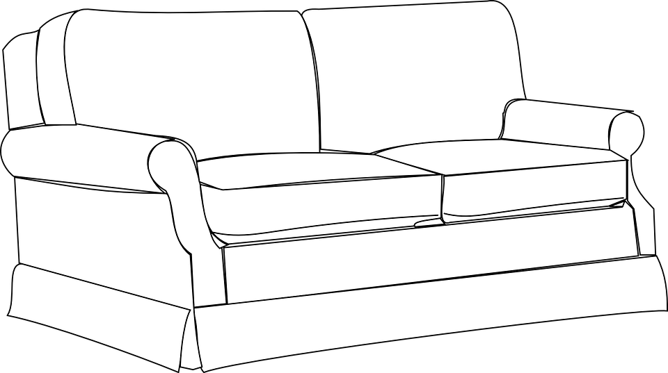 Free Vector Graphic Sofa Couch Furniture Home Room