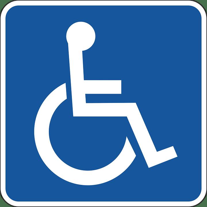 Pyörätuoli, Pysäköinti, Ei Käytössä, Vammaisille, Park
