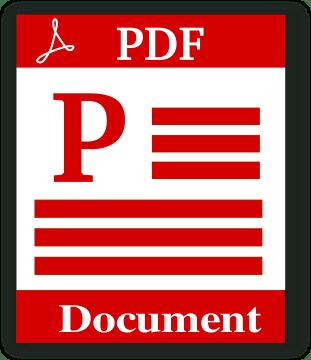 PDF File Image, PDF Document Image.