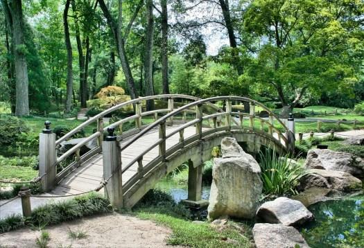 Ponte, Giardino Giapponese, Arco, Park, Giardinaggio