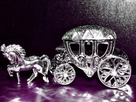 銀, コーチ, シルバーウェディング, アンティーク, 馬車