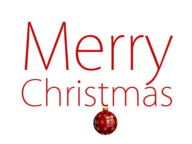 Free Illustration Christmas Happy Merry Festival