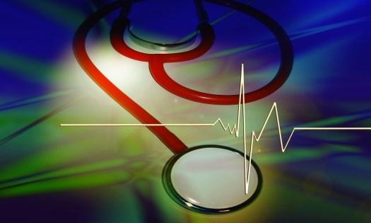 Stetoscopio, Curva, Pulse, Frequenza, Battito Cardiaco