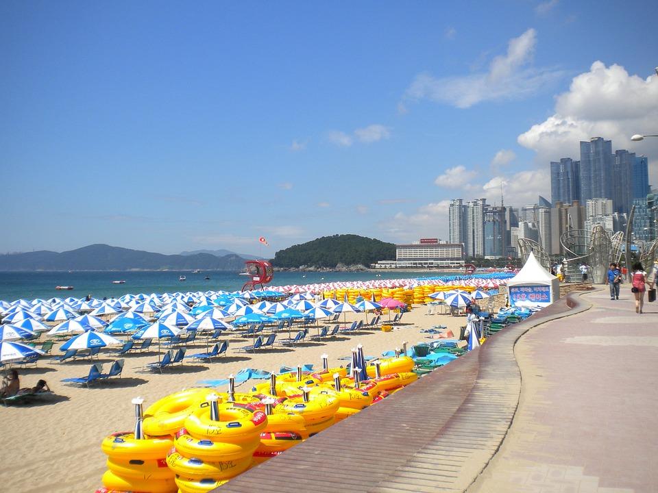 Busan, Haeundae Beach