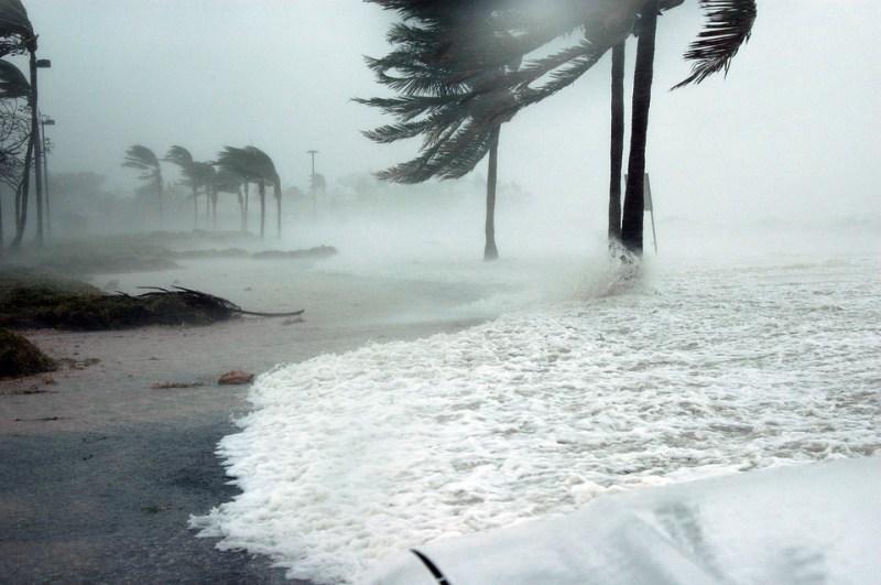 Ки Уэст, Флорида, Ураган, Деннис, Буря, Всплеск, Воды