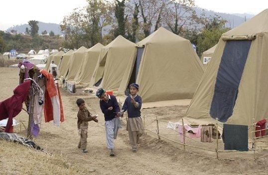 Shinkiari, Pakistan, Camp, Tents