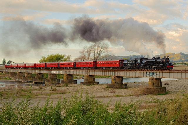 New Zealand Train Landscape Free Photo On Pixabay
