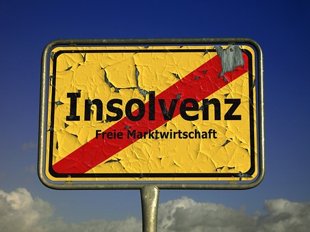 Insolvency, Shield, Town Sign, Note