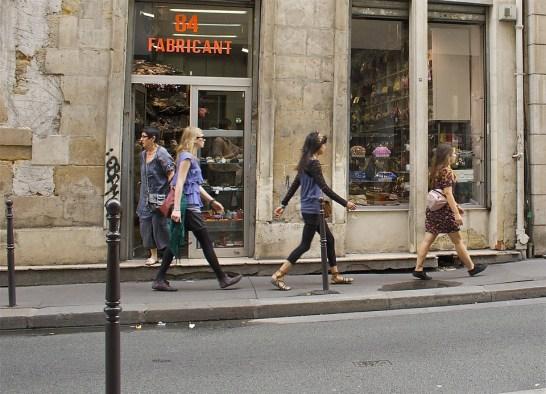 パリ, 発生します, 行く, 市内散歩