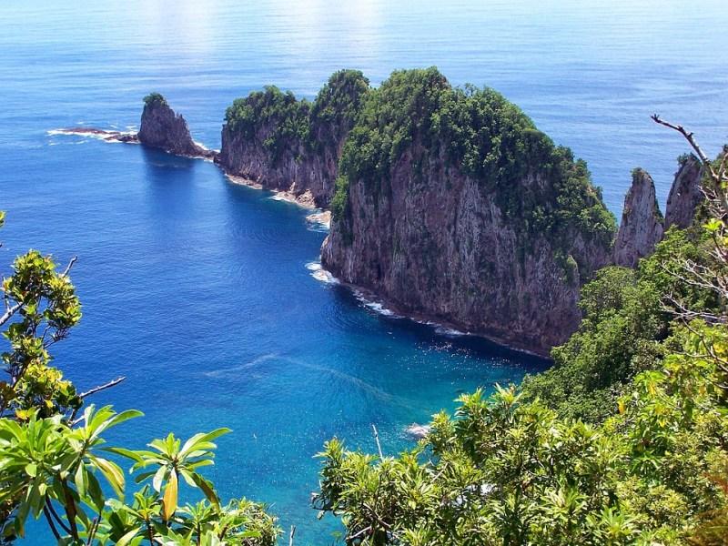 American Samoa, Island, Scenic, Sea, Ocean, Water