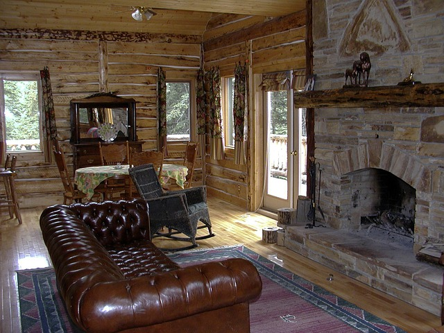 Free Photo Western Country Style Fireplace Free Image