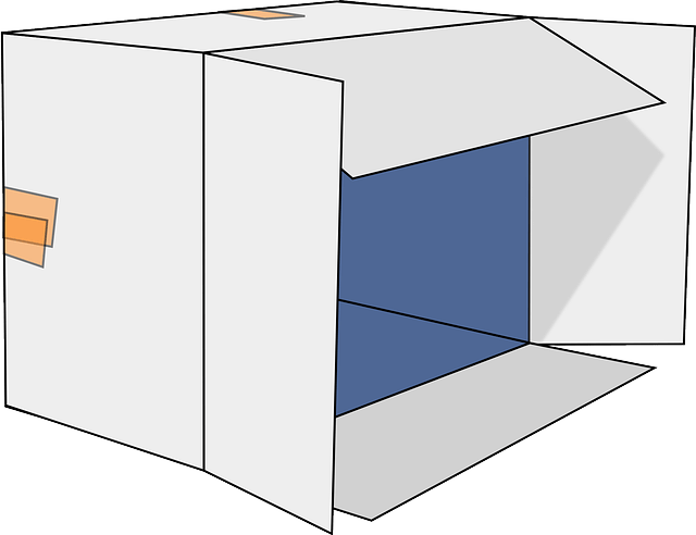 Cardboard Box Open Free Vector Graphic On Pixabay