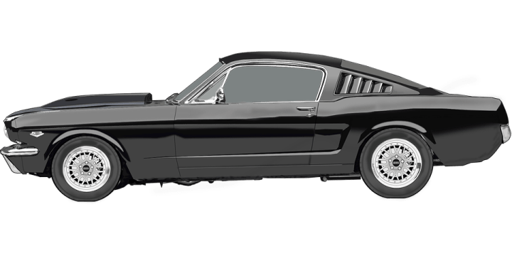 1968 dodge cars » Ford Mustang Car Racing Sports      Free vector graphic on Pixabay