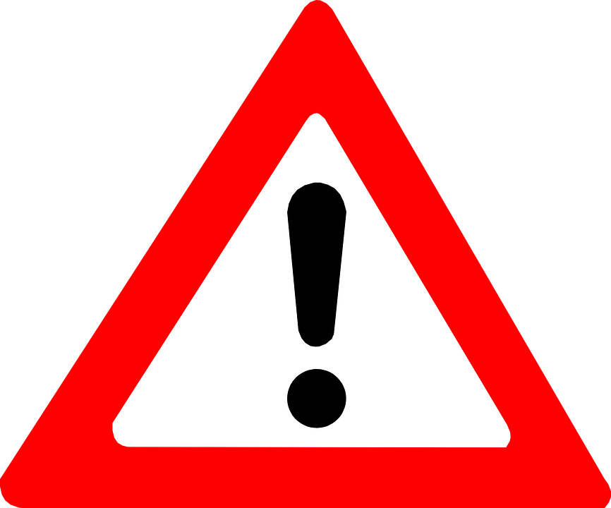 Attention Warning Exclamation Mark · Free vector graphic on Pixabay