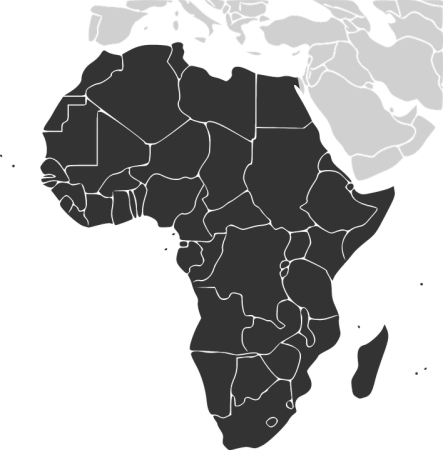 Africa Continent Countries      Free vector graphic on Pixabay africa continent countries map madagascar