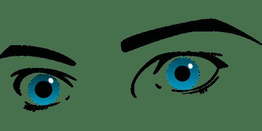 Eyes, Blue Eyes, Eyebrows, Brows, Seeing