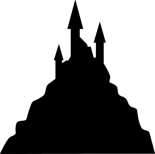 Free Vector Graphic Black Building Castle Halloween