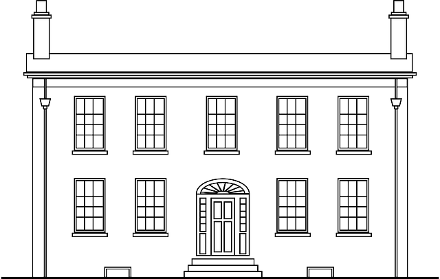 Mansion Colonial Home Canada Free Vector Graphic On Pixabay