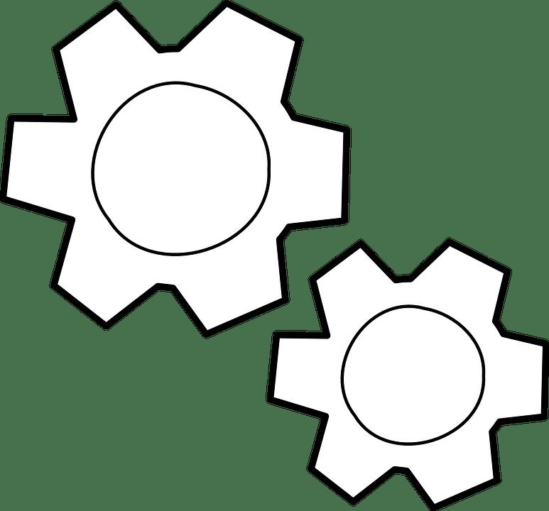 Free Vector Graphic Action Gear Process Cogwheels
