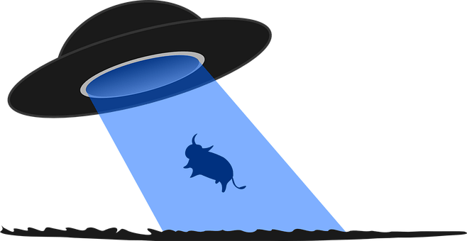 Abduction Flying Saucer Ufo Alien Cosmic C