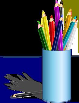Lápices, Lápiz De Color, Cuadro