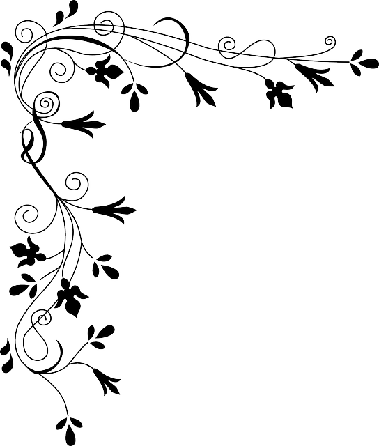 Border Flower Grass Free Vector Graphic On Pixabay