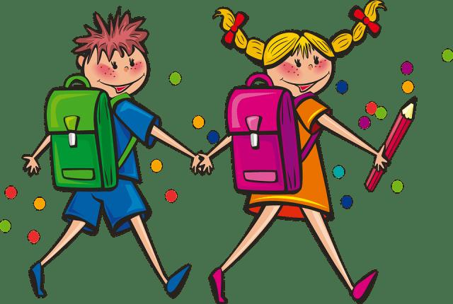 Kids, Students, Back To School, Boy, Girl, Children