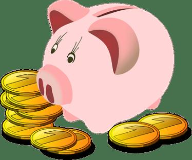 貯金箱, 豚, お金, 貯蓄, ファイナンス, 繁栄, 富, ゴールド, 銀行