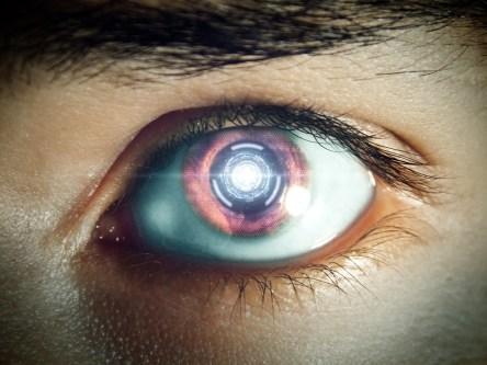 未来, 目, ロボットの眼, マシン, 未来の, ロボットのような, ドロイド, ロボット, 人造人間