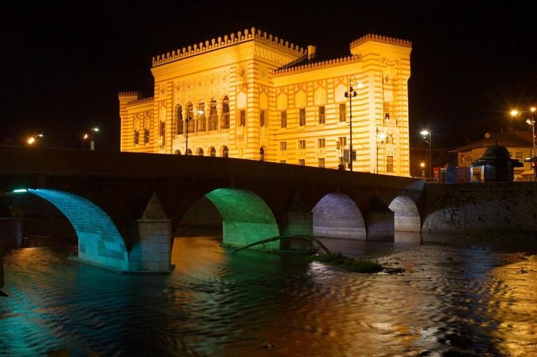 Bosnia And Herzegovina, Bosnia, Sarajevo, Miljacka
