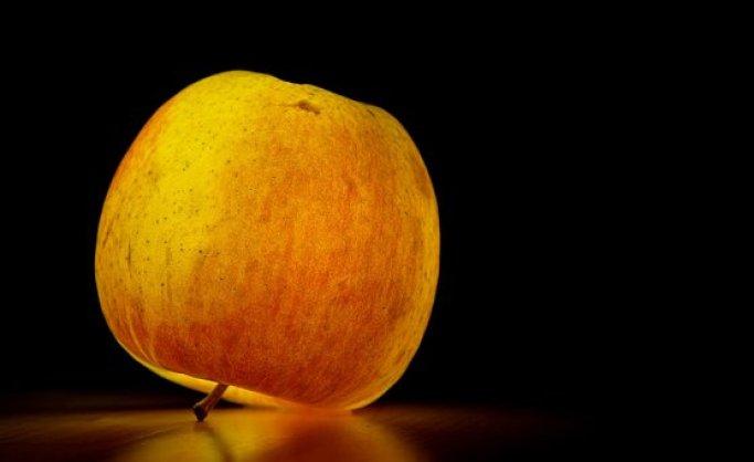 Apple, Fruit, Healthy, Ripe, Illuminated