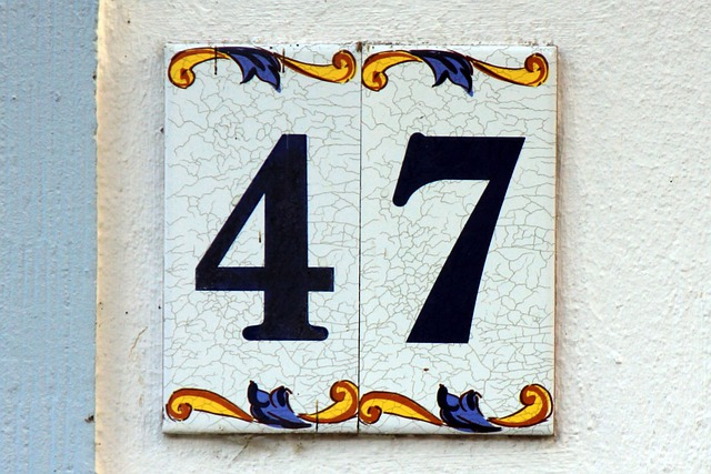 Number Digits 47 Forty Free Photo On Pixabay