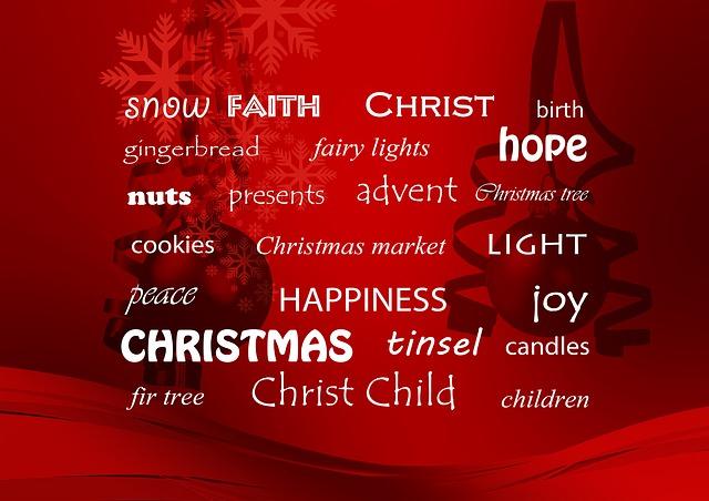 Free Illustration Christmas Words Rotnadvent Joy