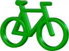 Bike, Biking, Green, Pedal, Save, Earth, Eco, Pollution