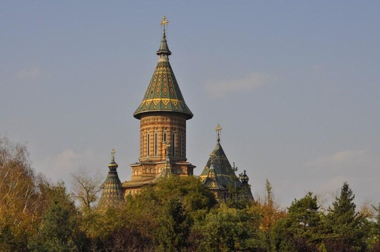Timisoara, Bazilica, Toamnă