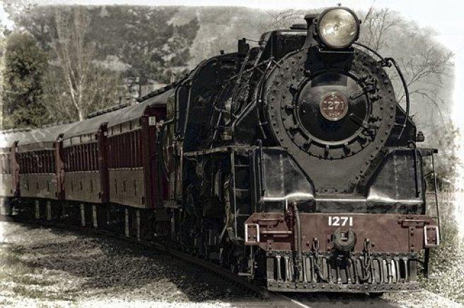 Lokomotif Buharlı Lokomotif Tren Anıt Demi Trenin Tarihçesi