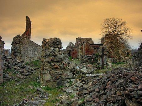 Oradour Sur Glane, Märtyrer Dorf, Ww2