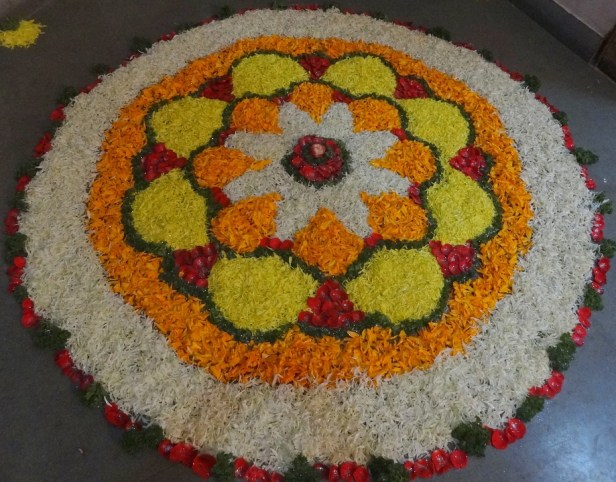 Flowers, Rangoli, Indian Custom, Indian, Decoration