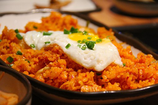 Kimchi Fried Rice, Fried Rice, Rice