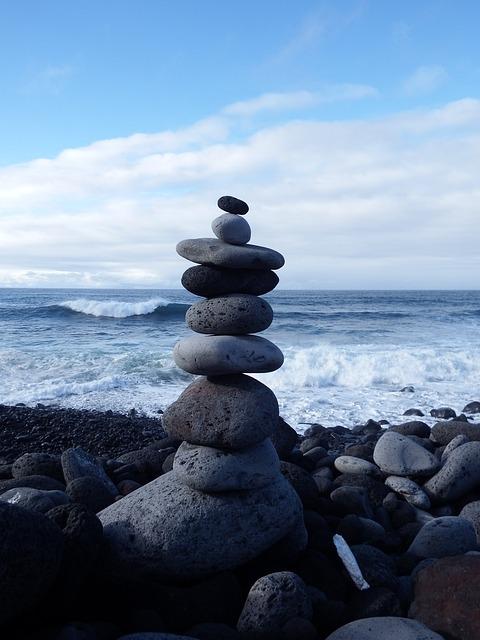 Stone Tower Balance Recovery Free Photo On Pixabay
