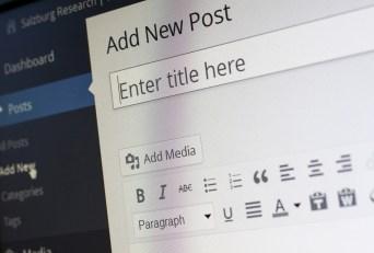 Wordpress, Blogging, Blogger, Rédacteur En Chef