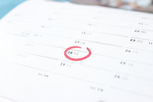 Czas, Kalendarz, Sobota, Weekend, Dzień
